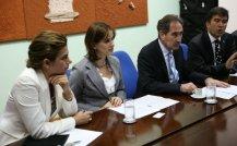 Interpretação consecutiva entre os Ministros da Cultura turco e brasileiro